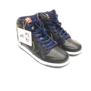 Nike SB Dunk High Pro NBA Cleveland Cavs Shoes Sz7